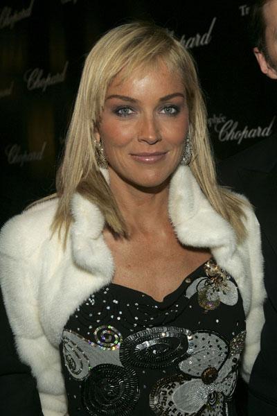 Sharon stone robe de soirée photos fonds d'écran wallpapers